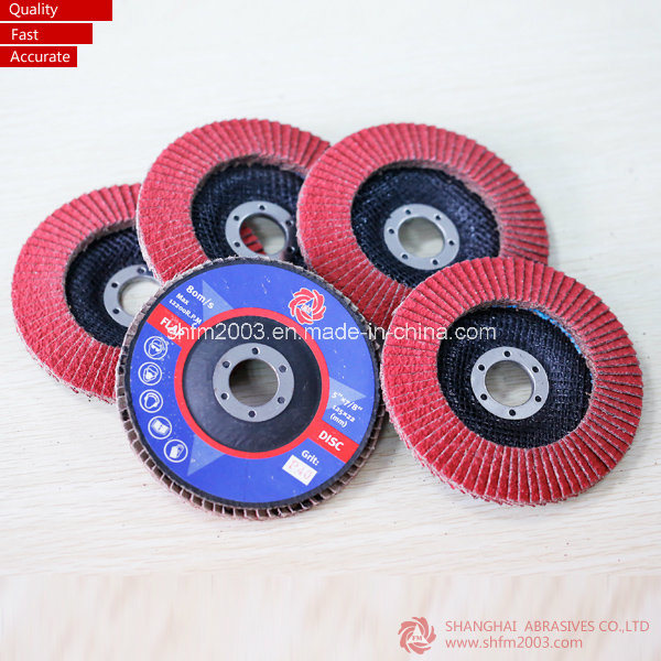 "4.5"" Vsm Ceramic Coated Abrasive Grinding Disc (VSM Distributor)"