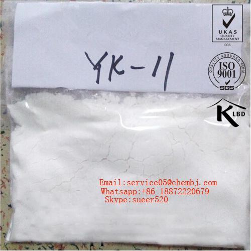 99% Purity Good Sarm Raw Powder Yk 11