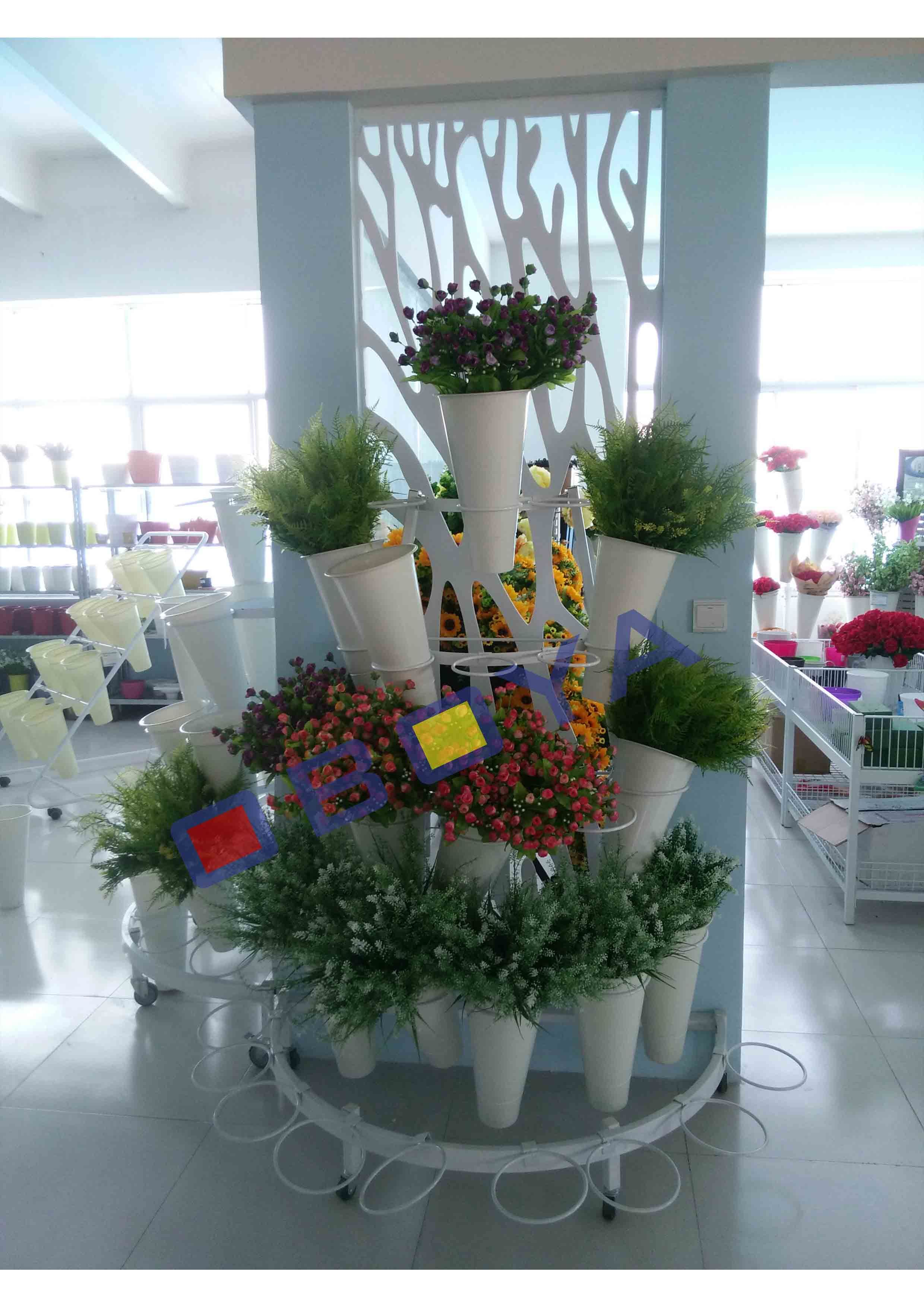 Round Display Shelf, Stand for Flower