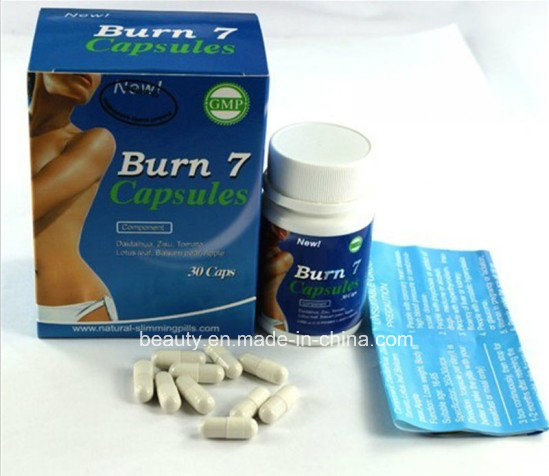 Strong Effect Burn 7 Herbal Slimming Fast Weight Loss Pills