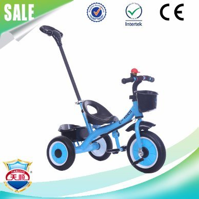 Baby Tricycle Bike with Pusher From Children Tricycle Toy Factory