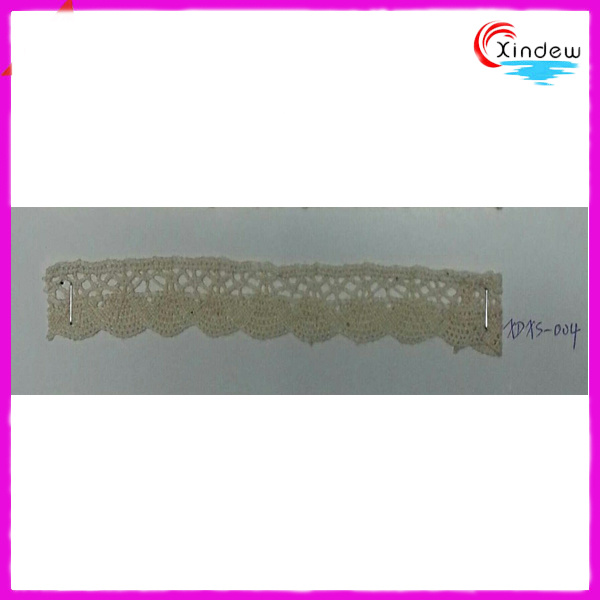Fashion Style 1.8cm Sector Shape Cotton Crochet Lace