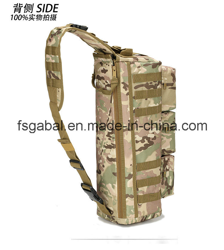 Outdoor Assualt Tactical Camouflage CS Army Sport Single Shourder Backpack