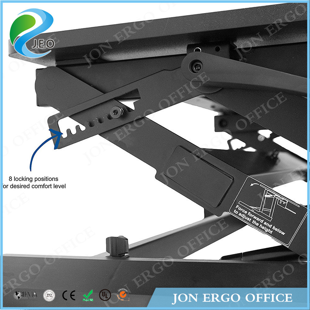 Gas Lifting Height Adjustable Sit Stand Desk (JN-LD02-A2)