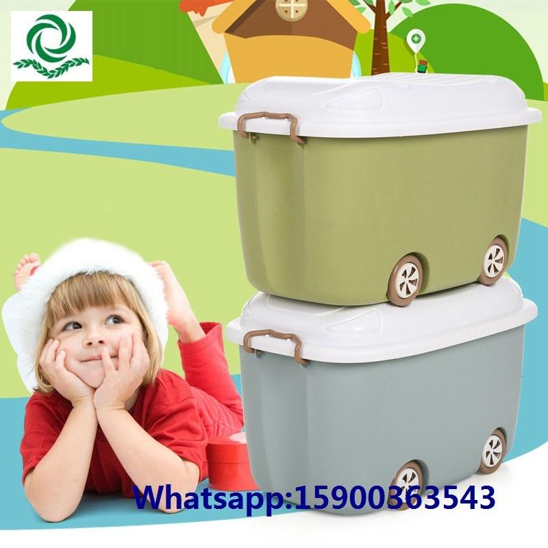 Kid Cartoon Plastic Toy Storage Box