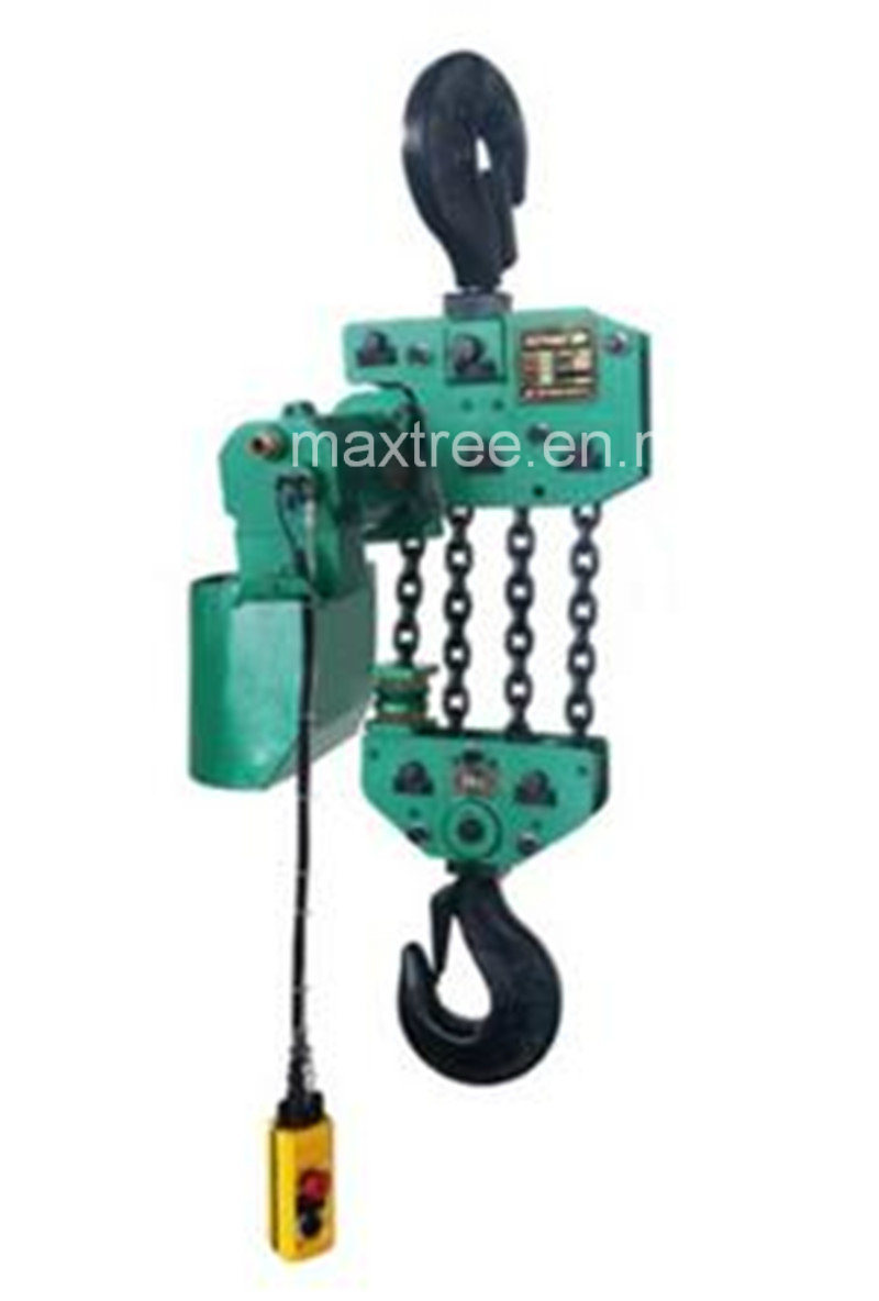 10t Pendant Controlled Air Chain Hoist for Industry/Ship Boat Ocean