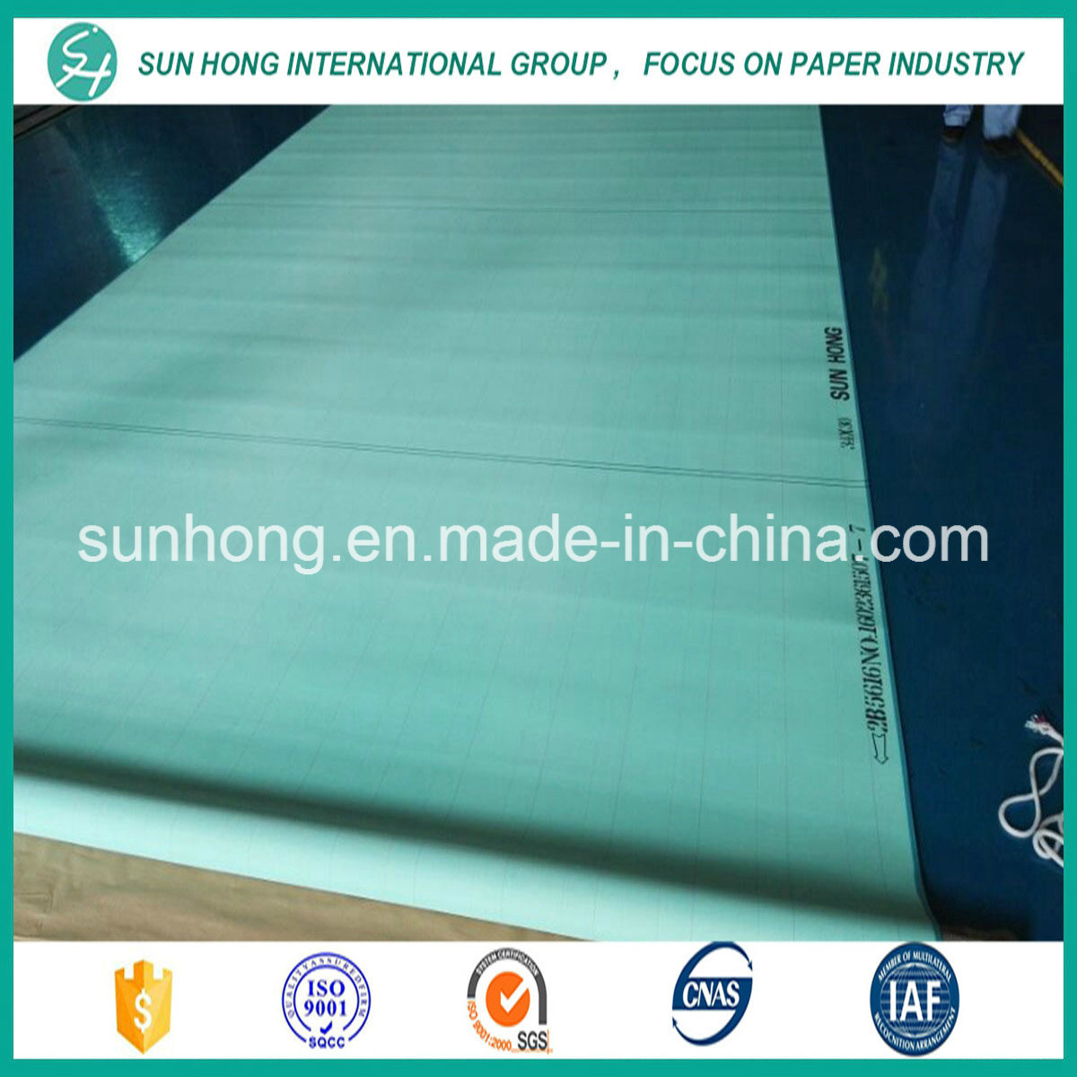 Polyester Double Layer Forming Fabric for Producing Newsprint Paper