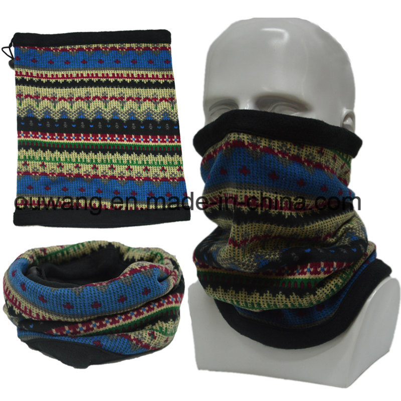 Winter Outdoor Sports Polar Fleece Neck Gaiter Tubular Neck Warmer