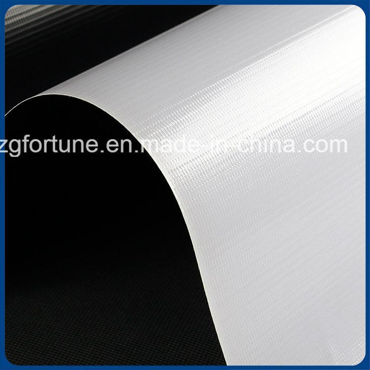 2017 Hot Sale PVC Glossy White-Black Blockout Flex Banner for Advertising