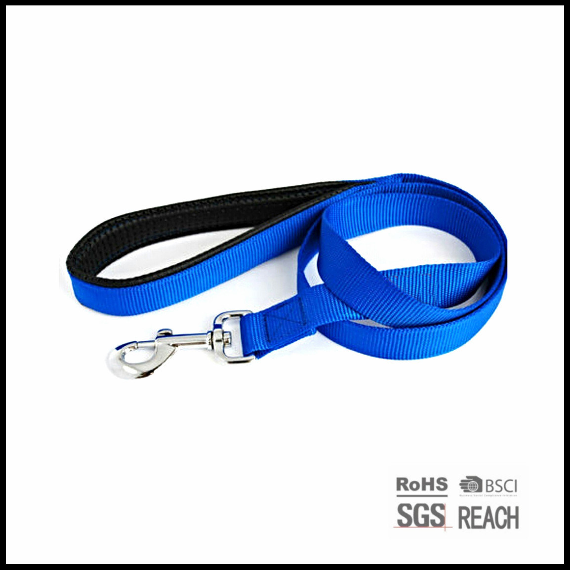 Nylon Polyester Leather Pet Dog Training Collars