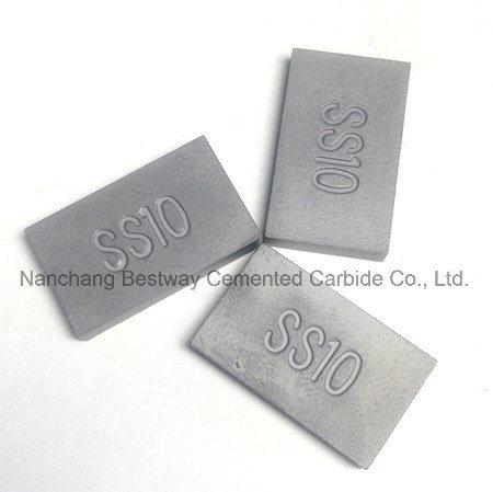 Ss10 Carbide Tips for Widia Blades of Stone Quarry