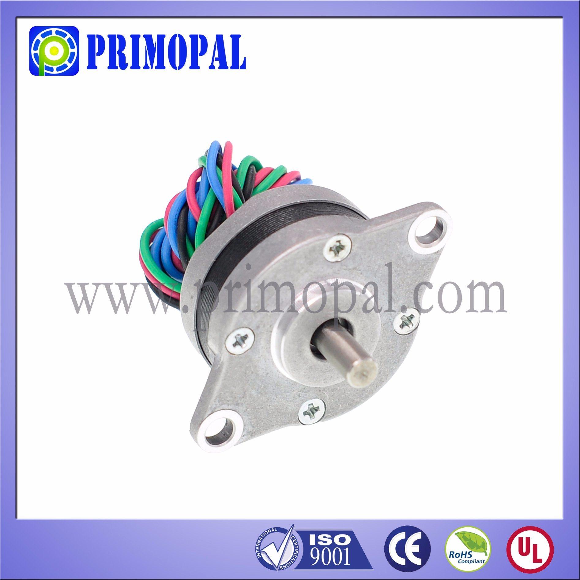 1.8 Step Angle NEMA 10 Round Micro Stepper Motor