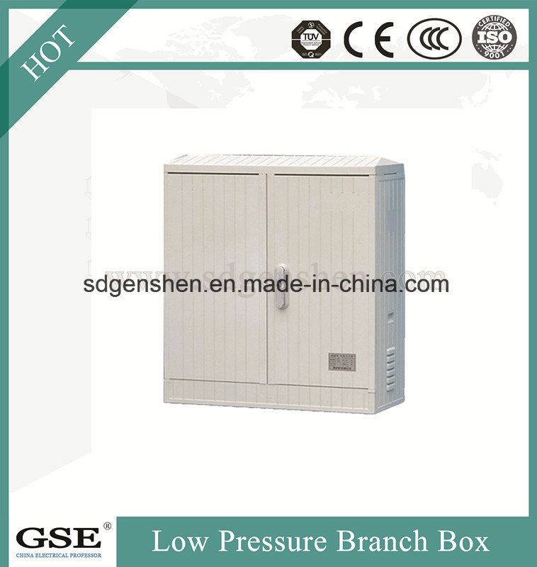 Fzx-02 Outdoor Water-Proof Low-Pressure SMC Glass Fiber Reinforced Polyester Power Cable Distribution Branch Box