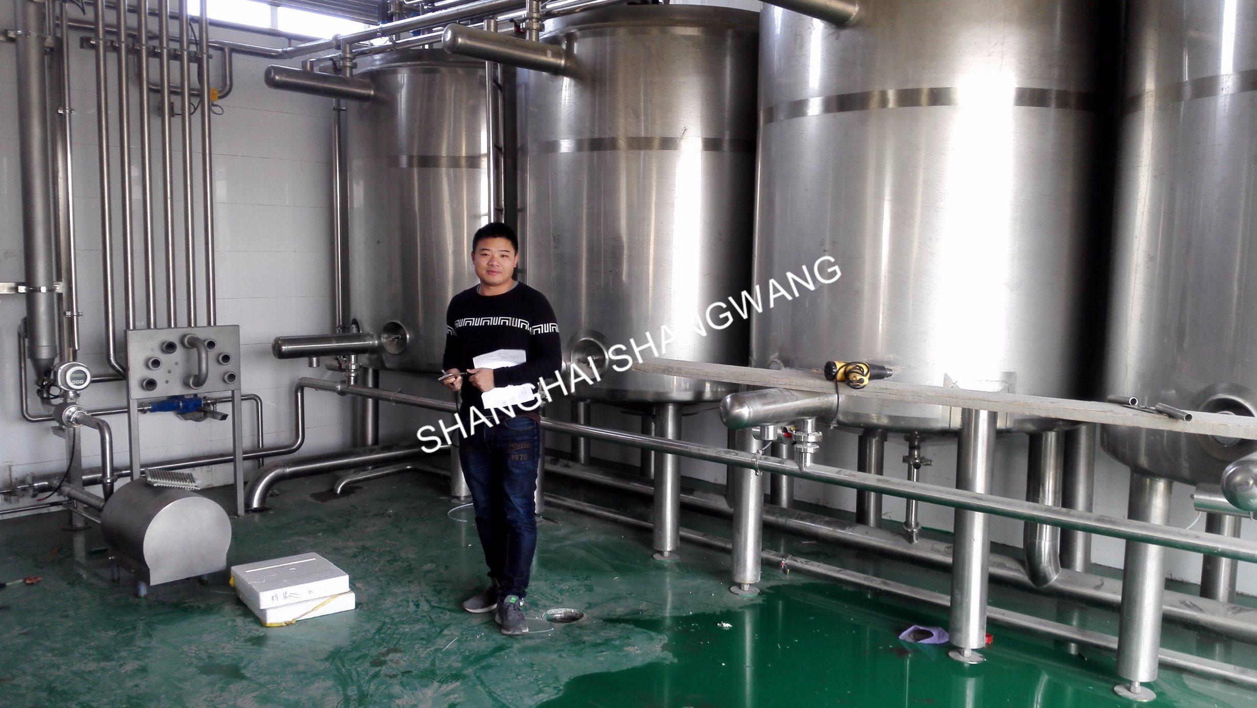 Full-Auto CIP Machine for Juice/Milk