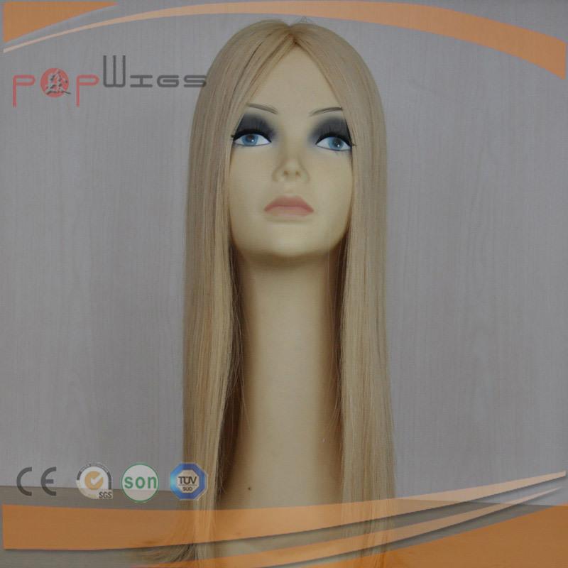 Human Remy Hair Mono Women Topper Toupee