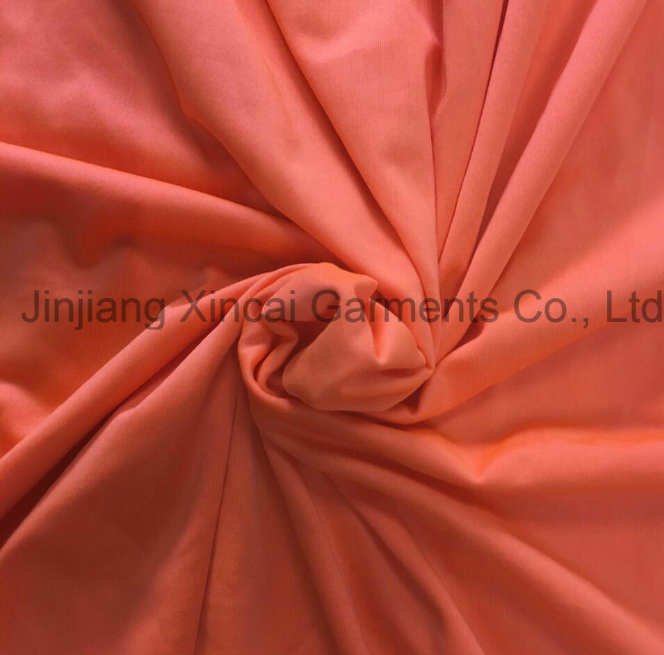 50d Lycra Weft Knitted 88%Polyester 12%Elastane Solid Dyed Fabric with Good Hand Feel for Swimsuit & Lingerie