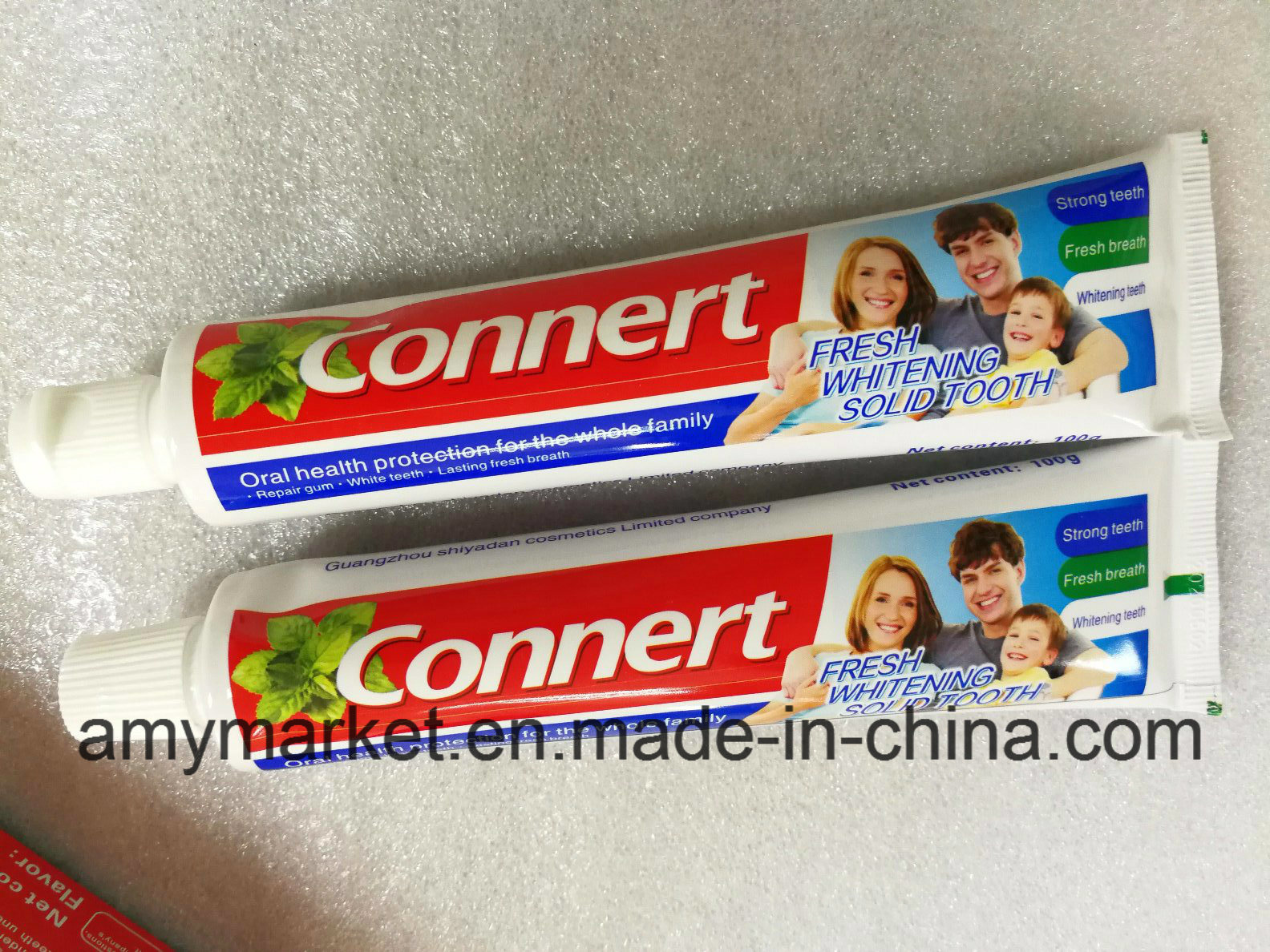 Connert Global Professional Oral Care Dental Cream Tooth-Paste Health Protection for The Whole Family Fresh Whitening Solid Toothpaste