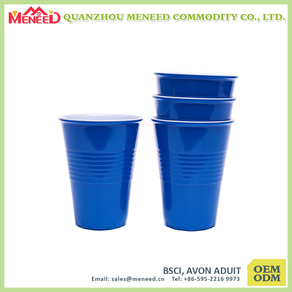Two Tone Reusable BPA Free Melamine Festival Cup