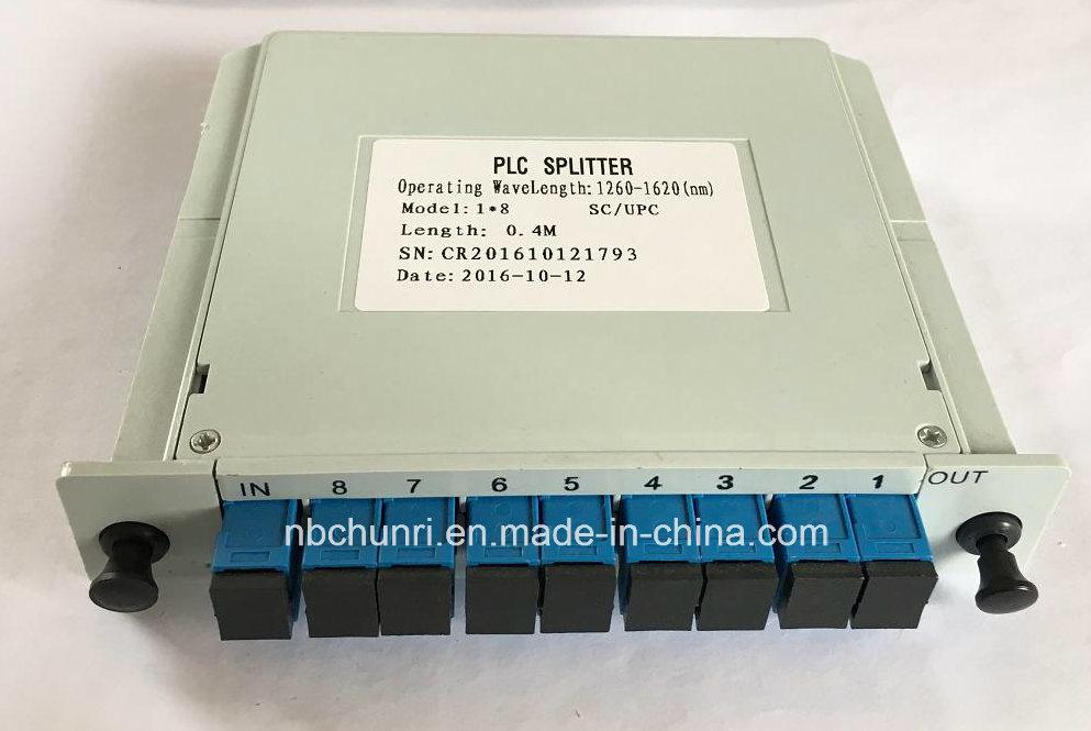 1*8 SC/PC PLC Splitter