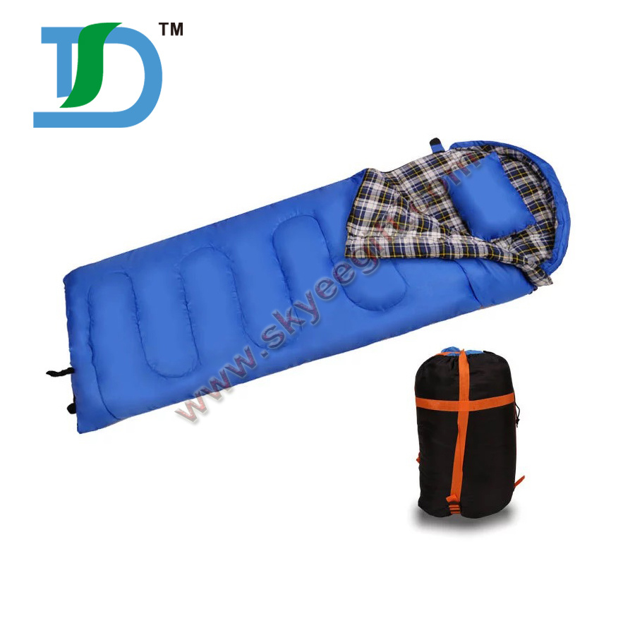 Waterproof 3 Season Custome Military Envelope Camping Laybag Sleeping Bag