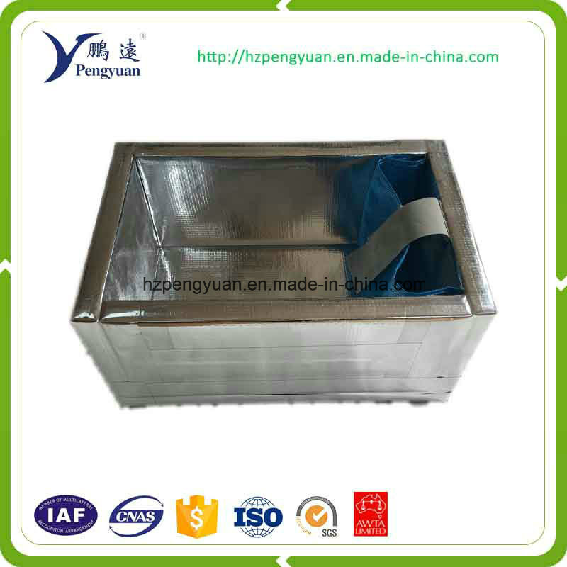 Thermal Insulation Reflective Film Woven Fabric 3D Box Liner