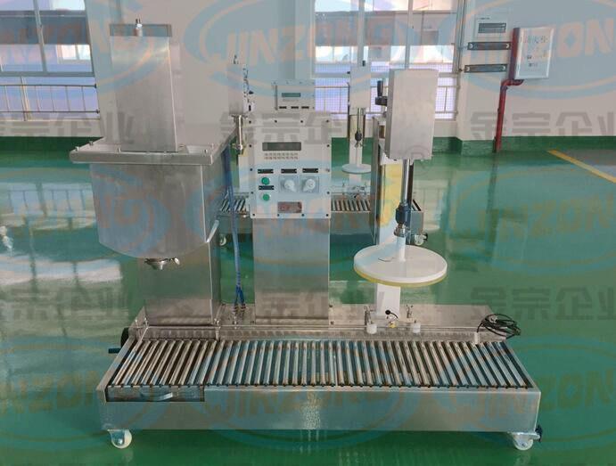 Liquid Filling and Capping Machine for Paint, Coating, Glue, Ink