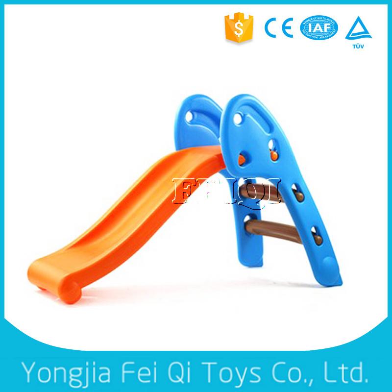 Hot Sell Indoor Kid Plastic Toy Children Slide Orang