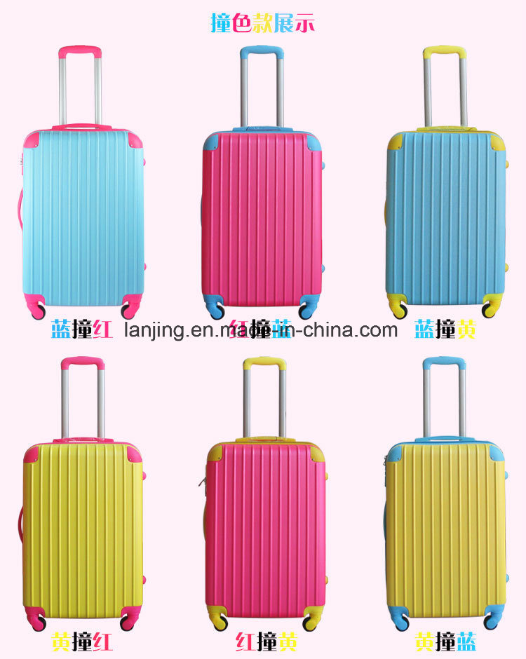 Bw1-019 Woman/Man′s/Children Like Travelling Trolley Suitcase Set Luggage Bag