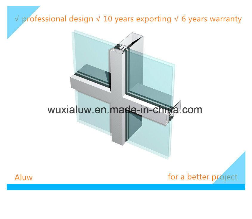 Envrimental Friendly Visible Curtain Wall