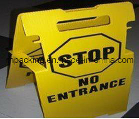 Warning Signs/Prohibition Signs / Cutting Die /Printing/Four Sockets/PP Plastic Material
