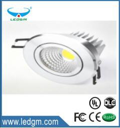 China Supplier COB Spot Recessed LED Down Light 3W 5W 7W 9W 12W 15W 18W LED ceiling Lamp AC 110V 220V LED Light Downlight