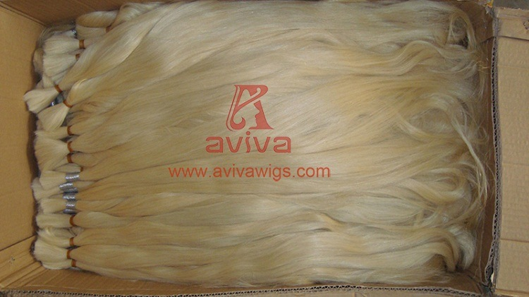 Unprocessed Natural Virgin Remy Human Hair Bulk
