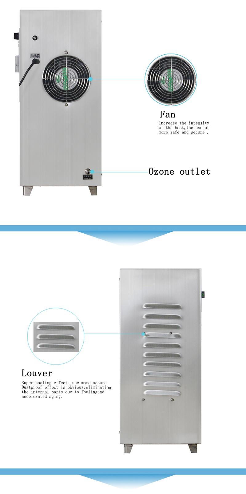 10g Portable Ozone Generator Air Freshener Ozonator for Sale