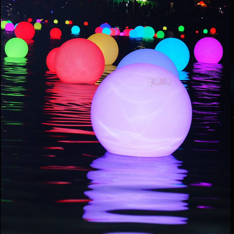 Lighted Christmas Ornaments LED Christmas Light Decorative Ball with Remote