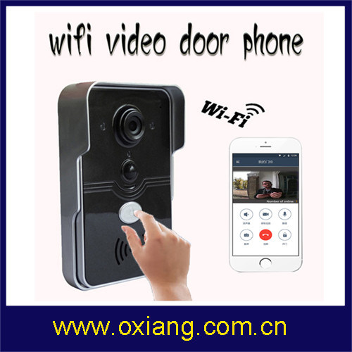 WiFi Video Door Phone Doorbell Support 2 Way Intercom