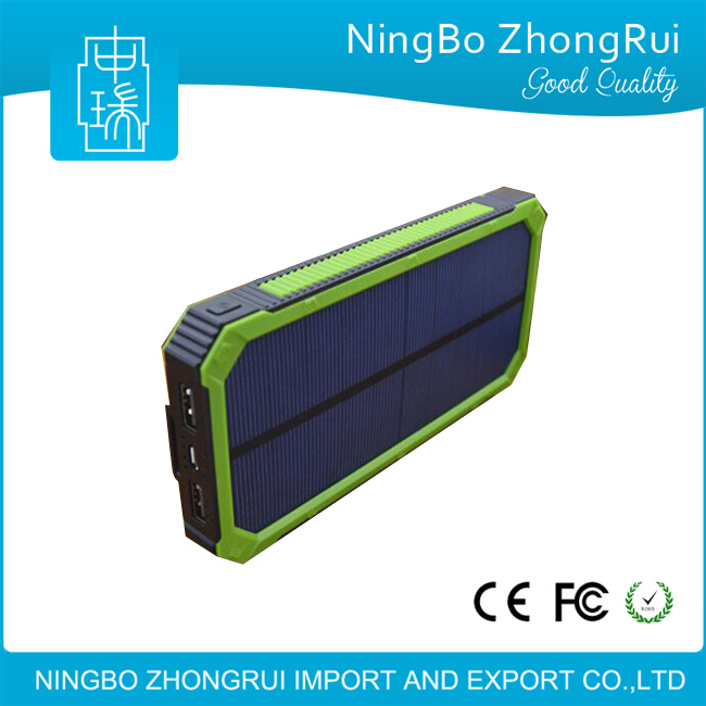 New Arrive High Quality Power Bank Mobile Solar Charger 12000mAh, Solar Power Bank 20000mAh