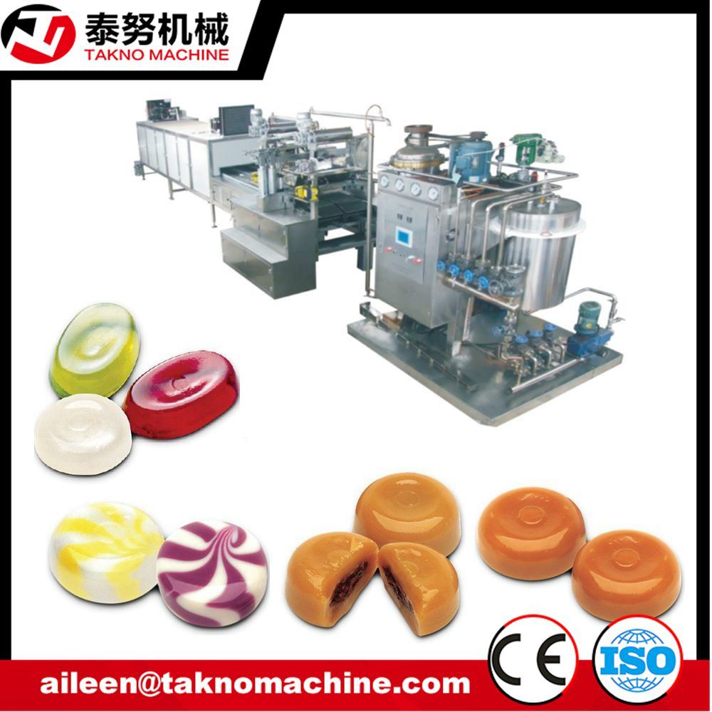 Automatic Hard Candy Depositing Line Candy