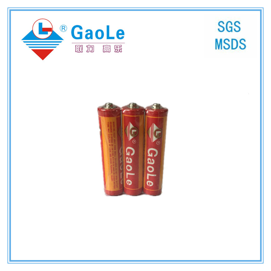 Chinese Battery Manufacture Um4 AAA Primary Battery