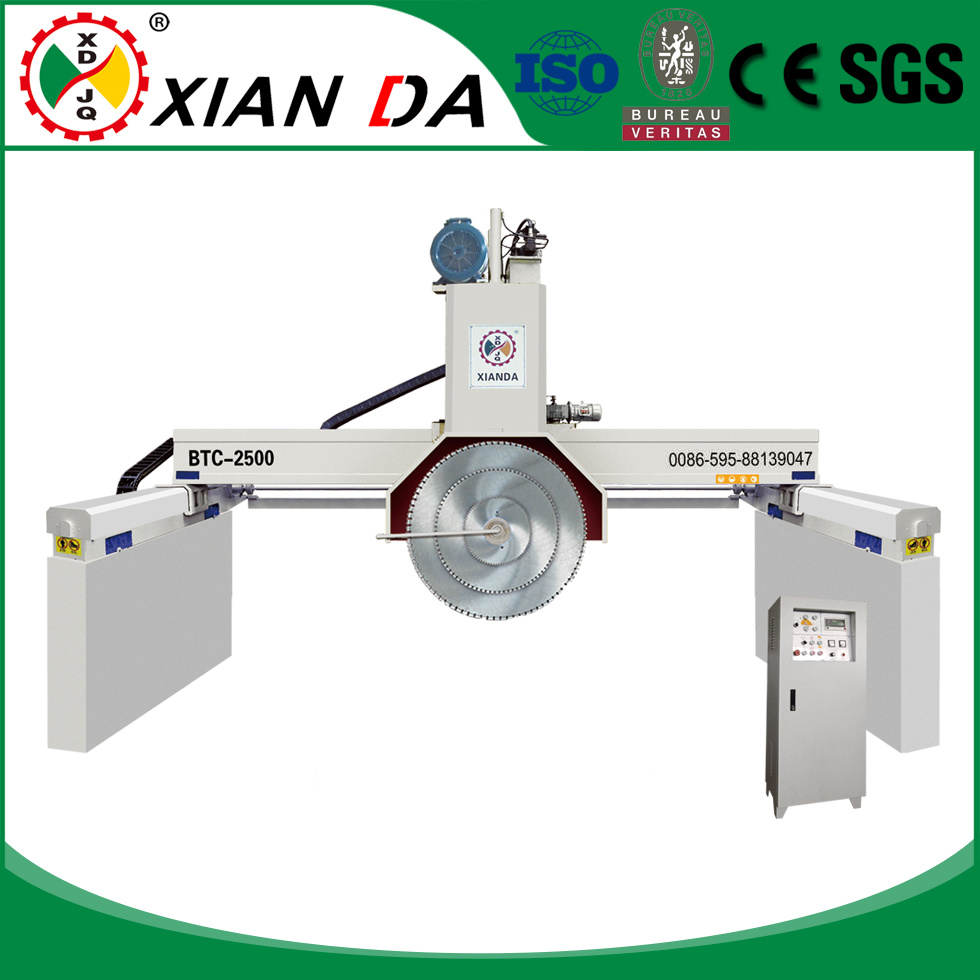 Btc-2500 Multi-Blades Granite Marble Bridge Block Cutting Machine