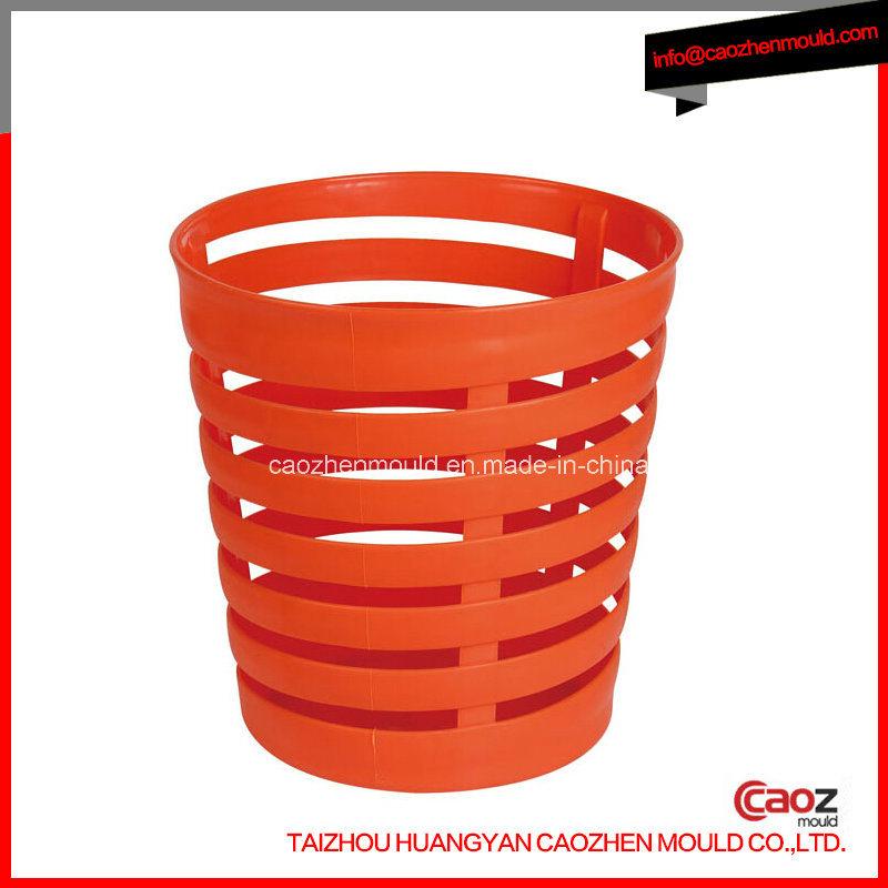 Plastic Injection Waste Basket/Trash Bin Mould