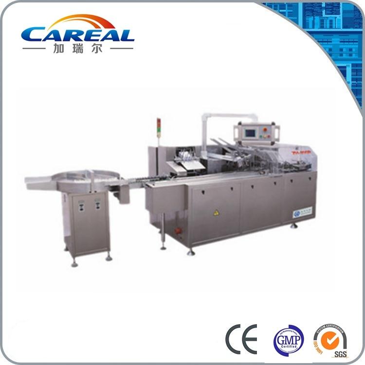 Dzh-100 Automatic Bottle Cartoning Box Machine