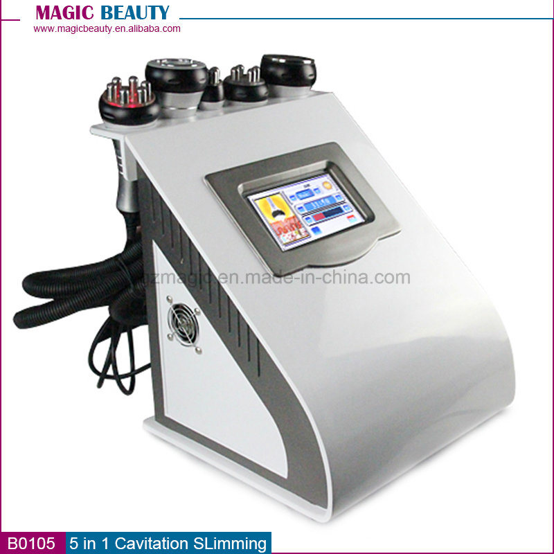 B0105 5 in 1 Whole Cavitation RF Vacuum Weight Loss Body Slimming Machine for Sale