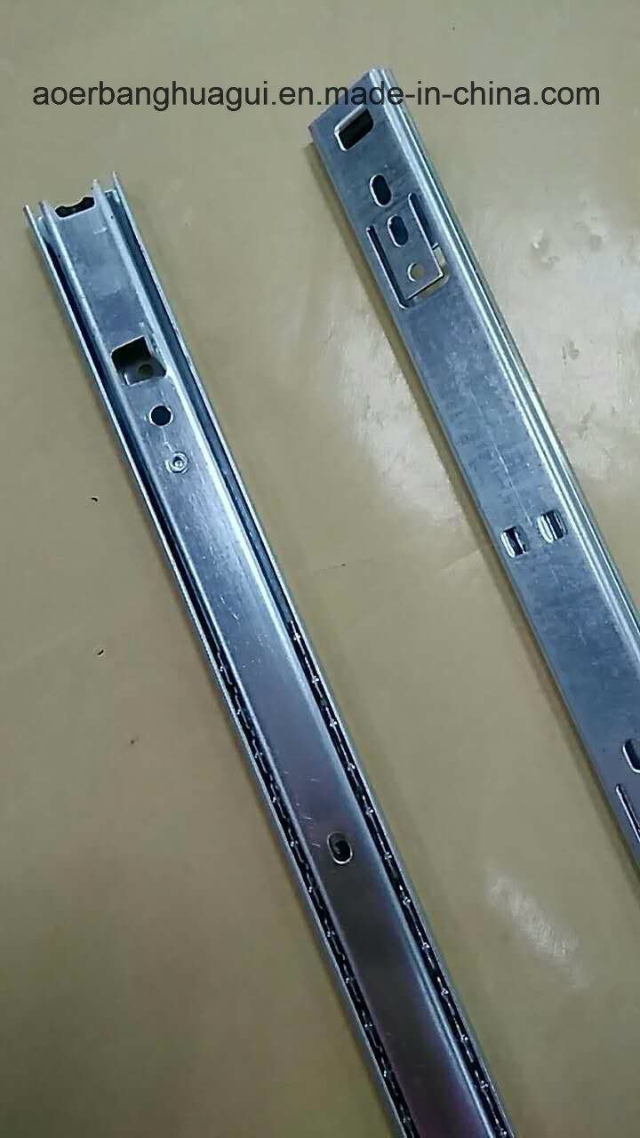 27mm Single Extension Ball Bearing Slide with Bracket