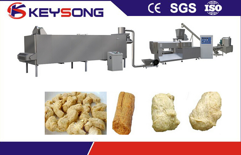 Vegetarian Meat Soya Protein Food Extruder