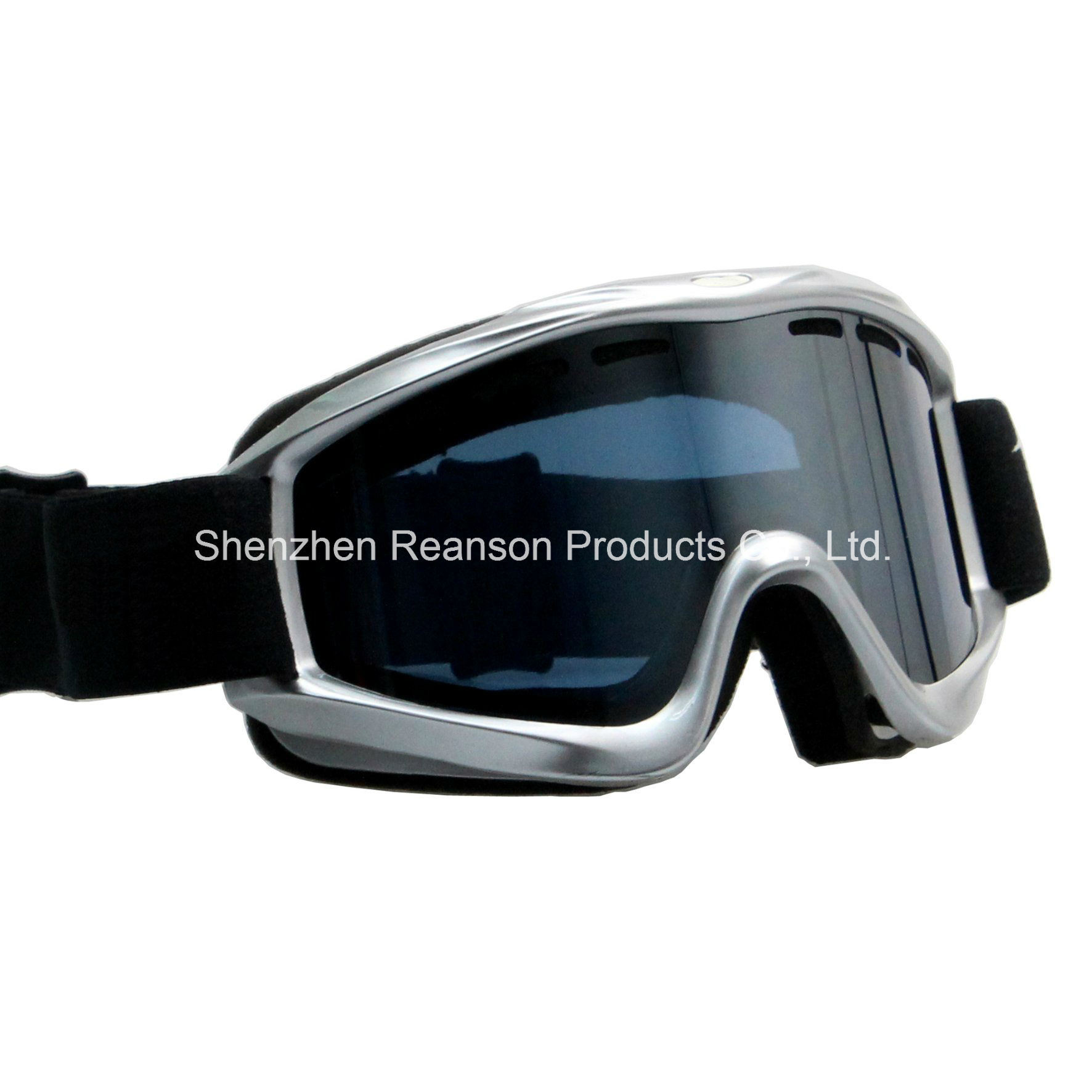Reanson Double Lenses Helmet Compatible Anti-Fog Skiing Goggles