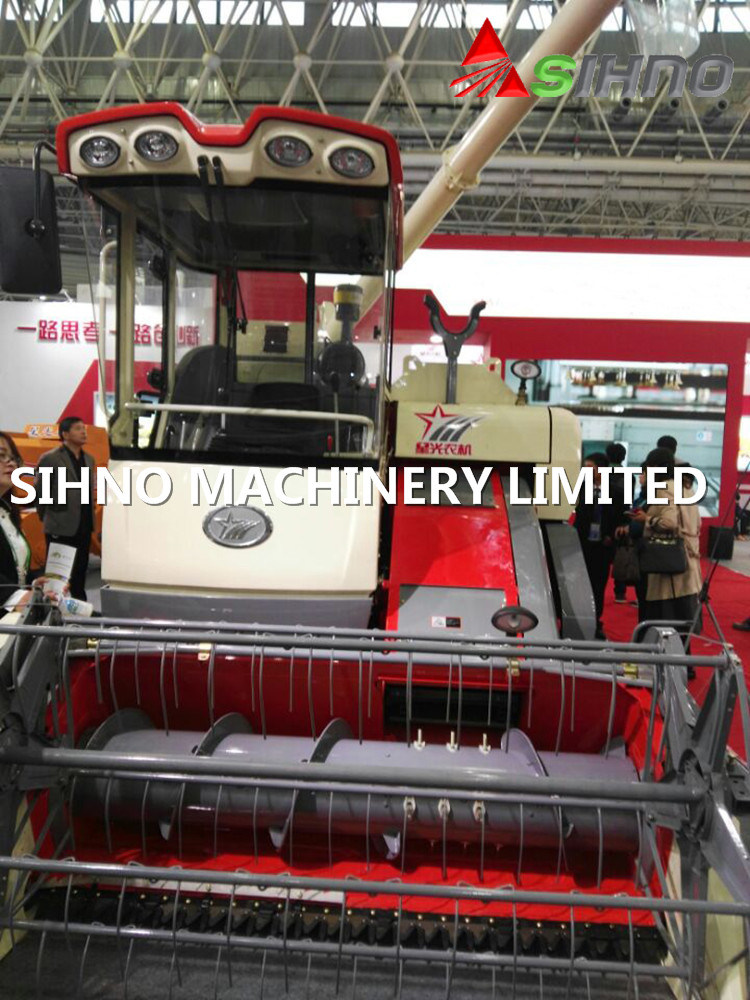 New Lucky Star Xg788s Combine Harvester with Rice and Wheat