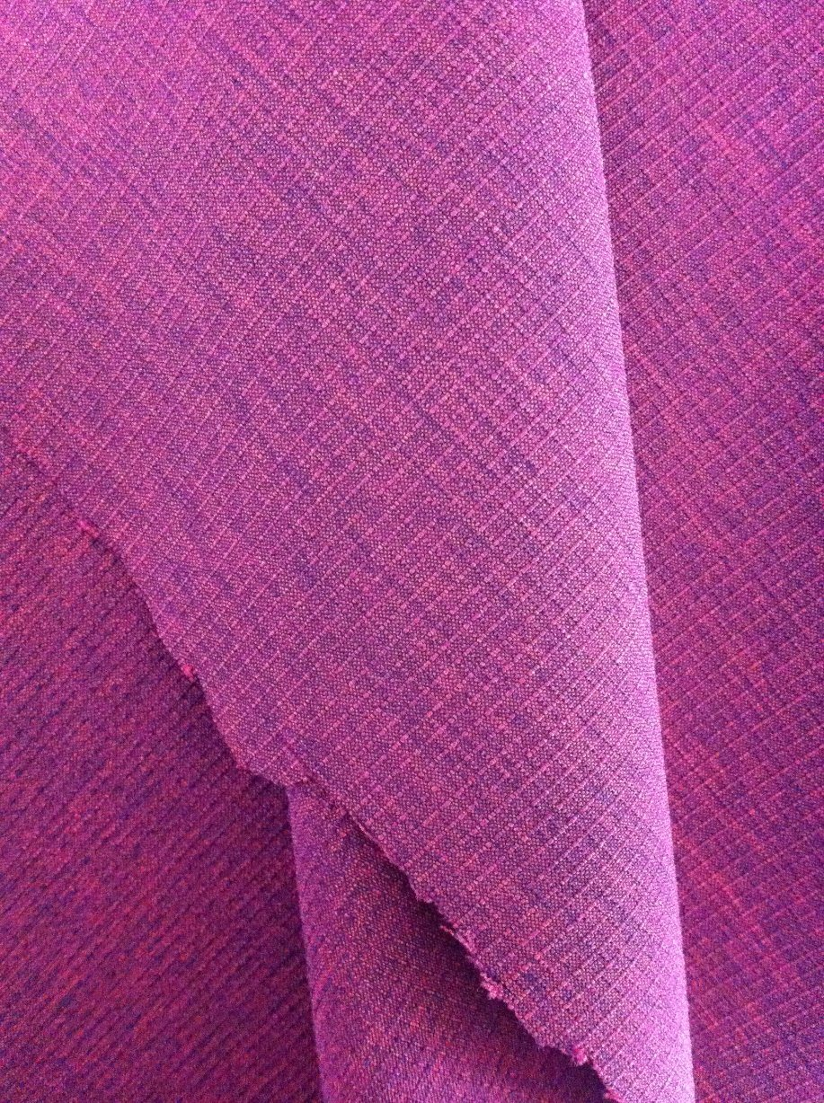 Polyester Cationic Check 4 Way Spandex Fabric for Jackets