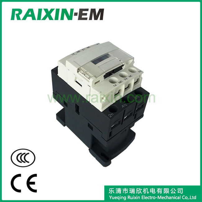 Raixin New Type Cjx2-N09 AC Contactor 3p AC-3 380V 4kw