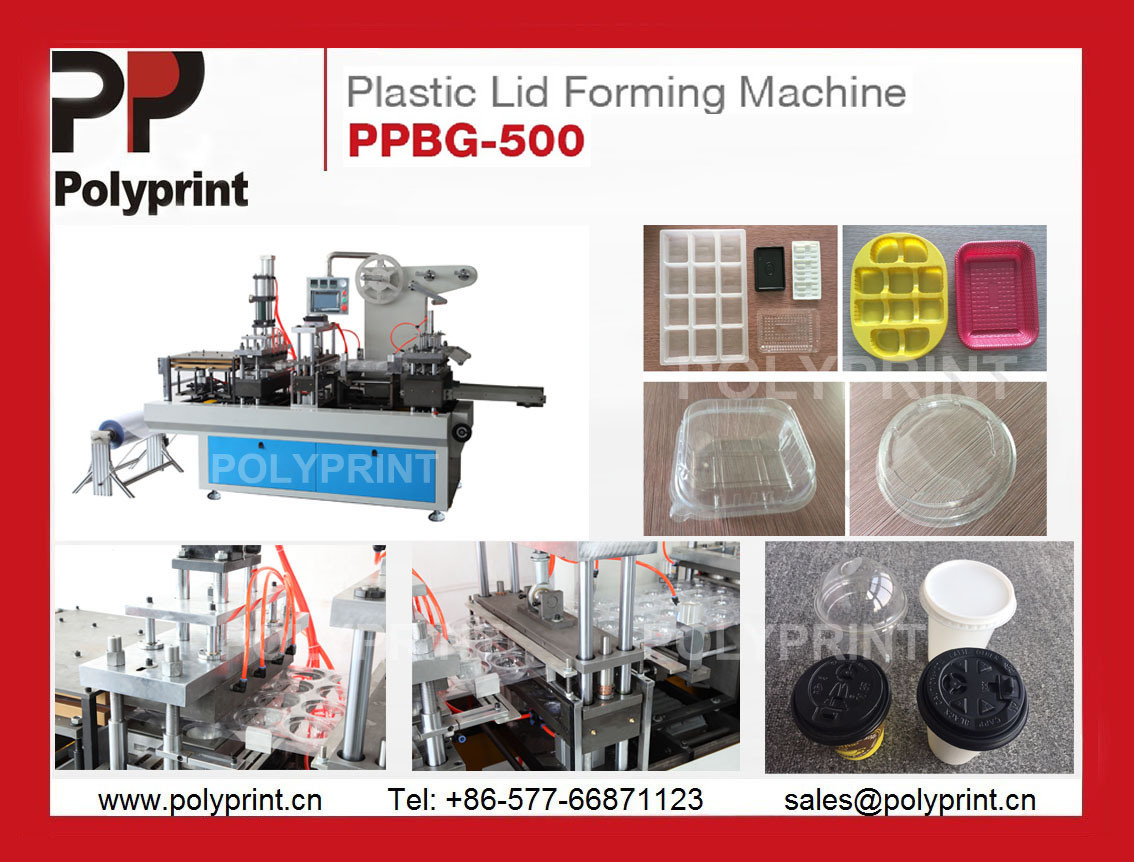 PLA Lid Forming Machine Thermoforming