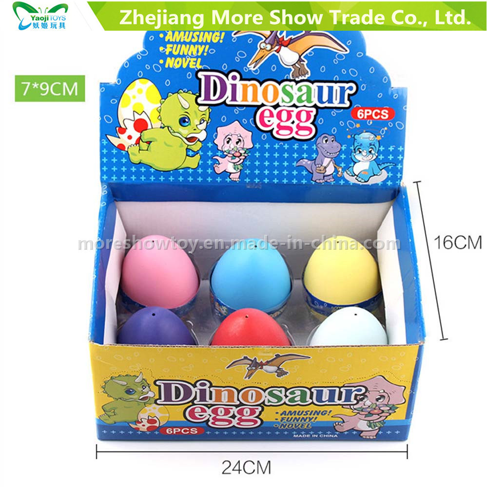 Colourful Magic Growing Pet Dinasour Eggs Hatching Egg Toys 7*9cm